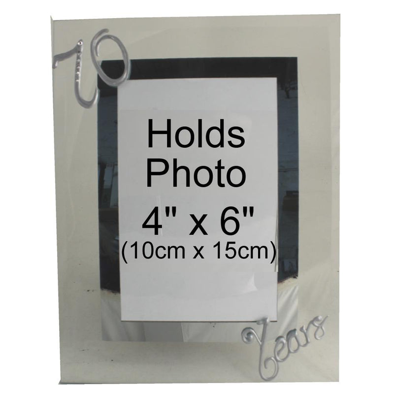 70 Years Wedding Anniversary photo/picture frame Port (Crystalled)