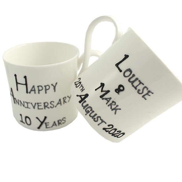 Personalized Mugs Example