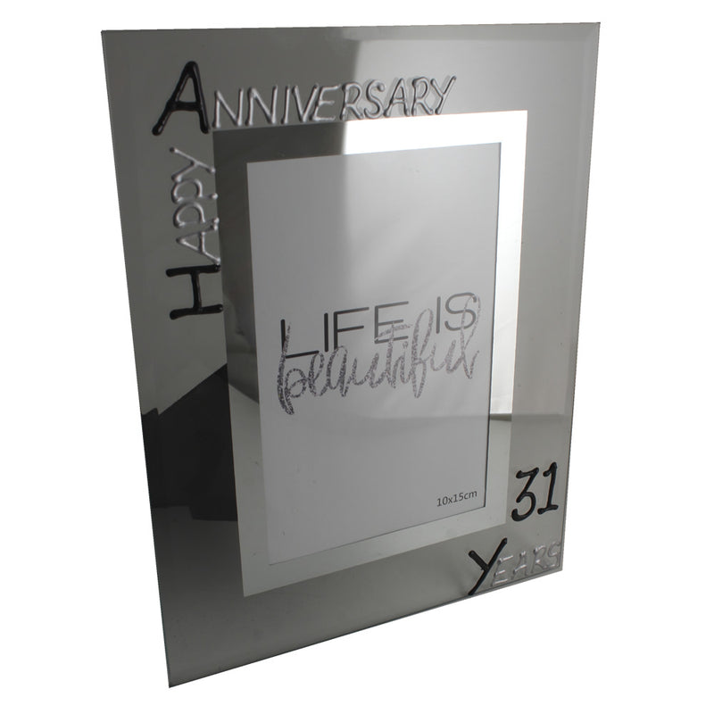 31st Wedding Anniversary Gift Images Decoration Ideas Photo Frame Portrait Blksil