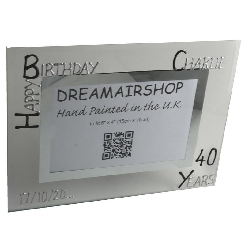 Personalised 30th Birthday photo/picture frame