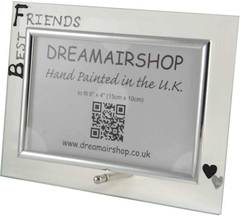Best Friends Photo Frame land (Blk/Sil)
