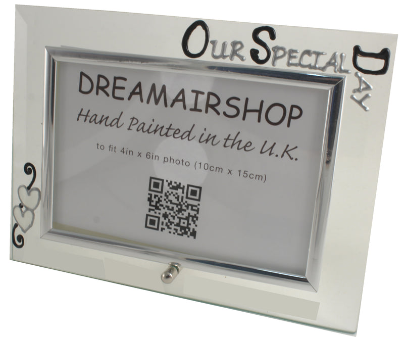 Our Special Day Photo Frame Land Blk/Sil