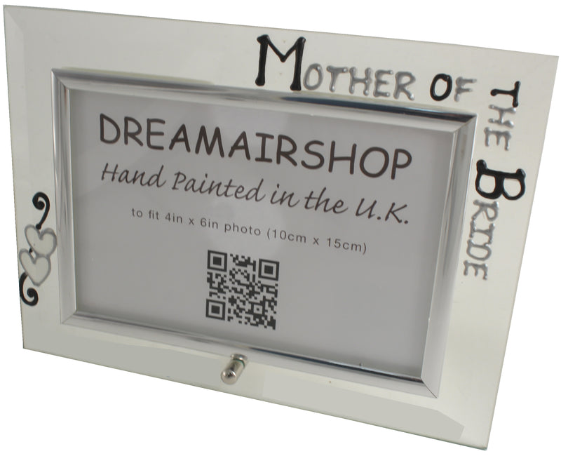 Mother of the Bride Photo Frame (Blk/Sil)