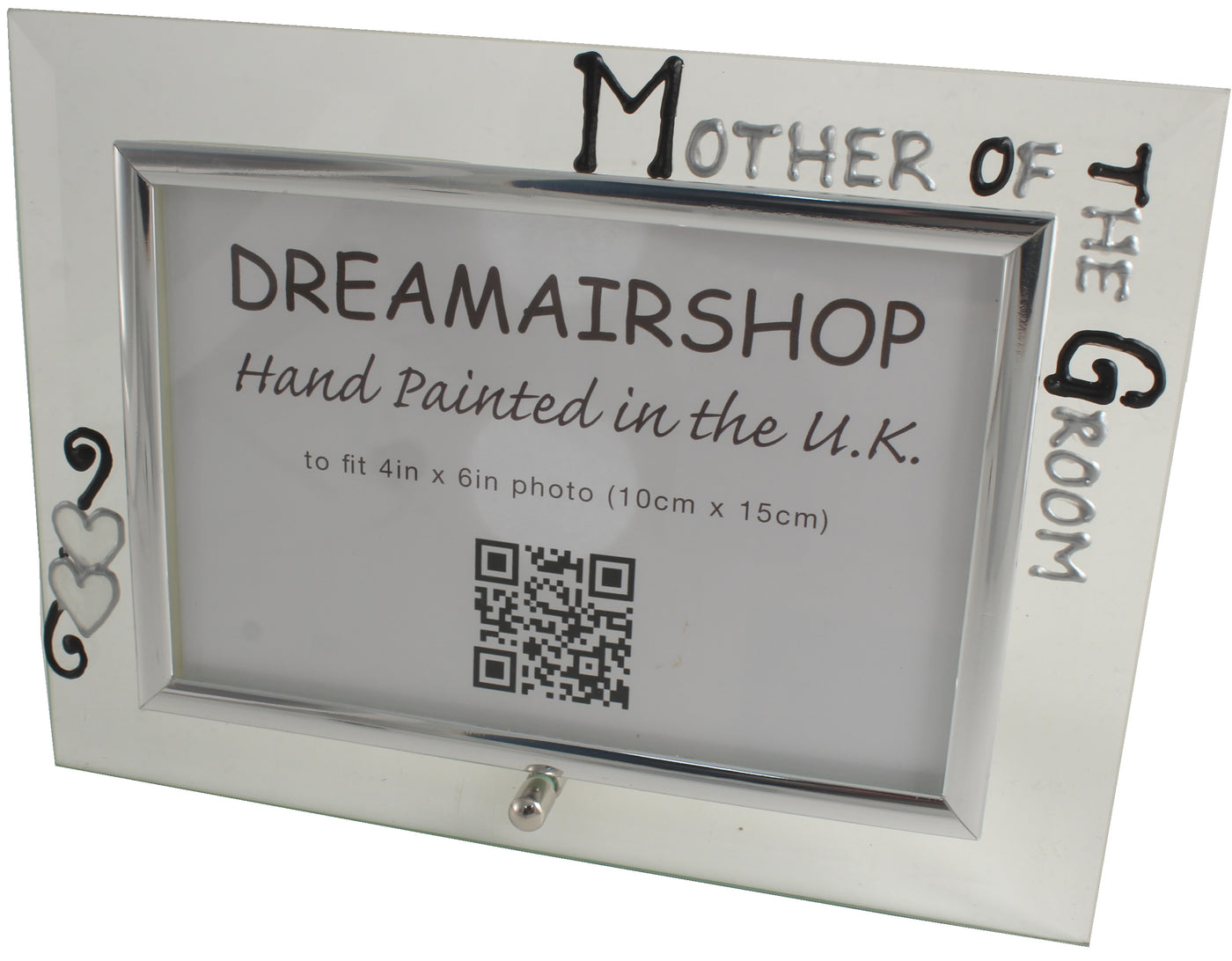 Personalised Mother Of The Groom Gift Photo Frame Landscape Blksil
