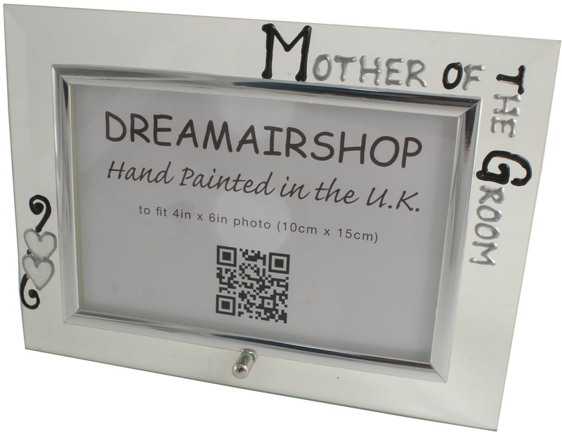 Mother of the Groom Photo Frame Land (Blk/Sil)