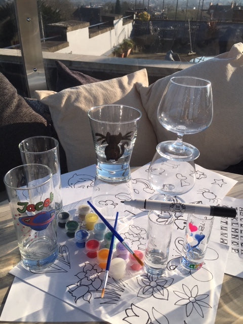 Paint Your Own Craft Glasses Craft Kit