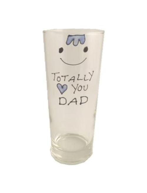 Totally Love You Dad Pint: Glass
