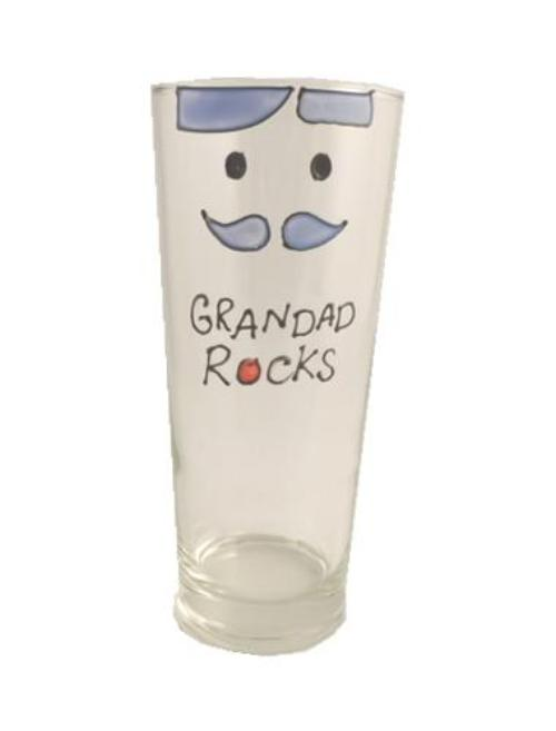 Grandad Rocks Pint Glass