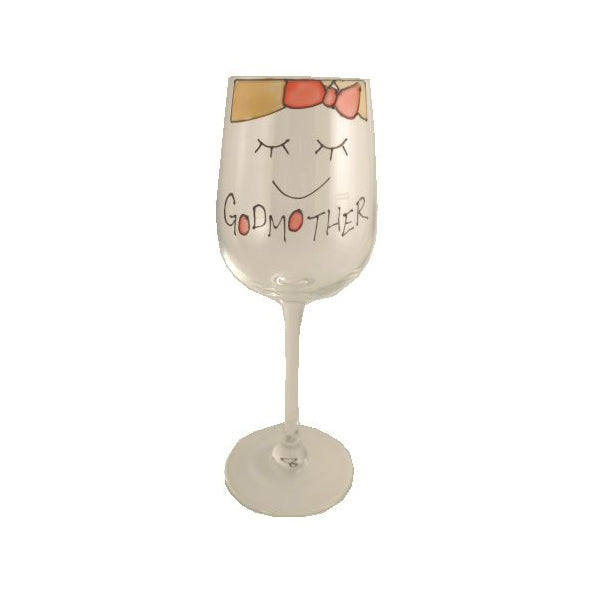 Godmother Wine Glass (Cami)