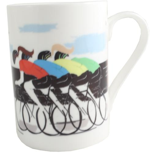 Cycling China Printed Mug Front