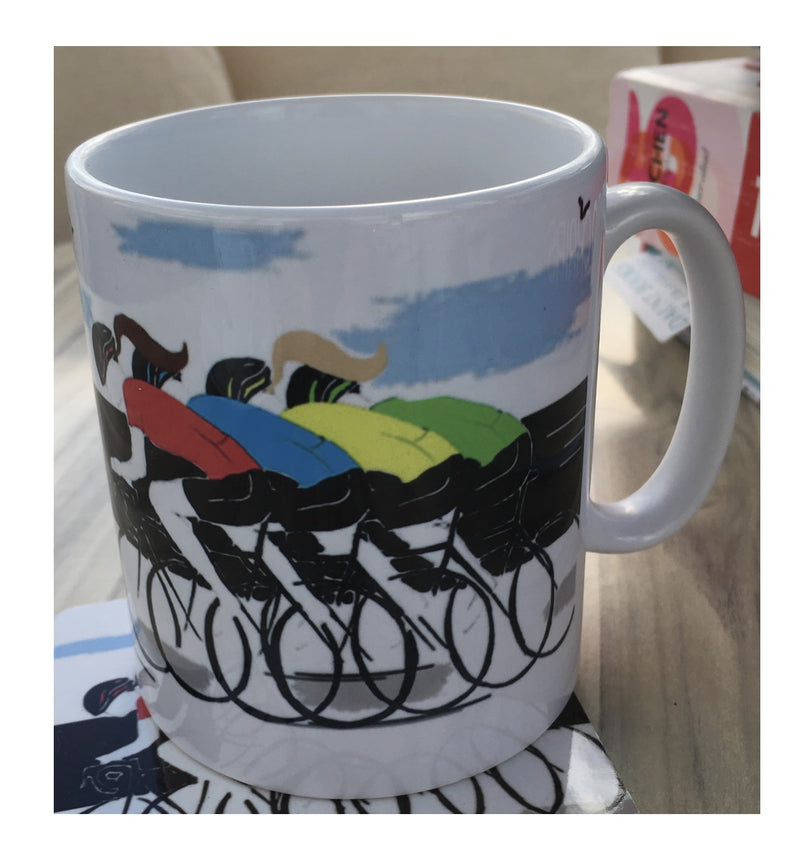 Cycling Printed Mug