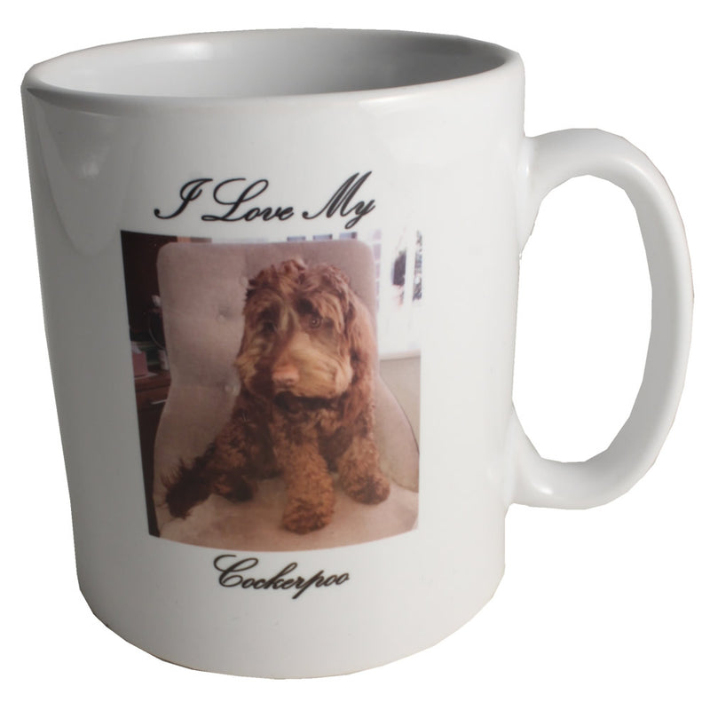 Customised Gift Cockapoo Ceramic Mug