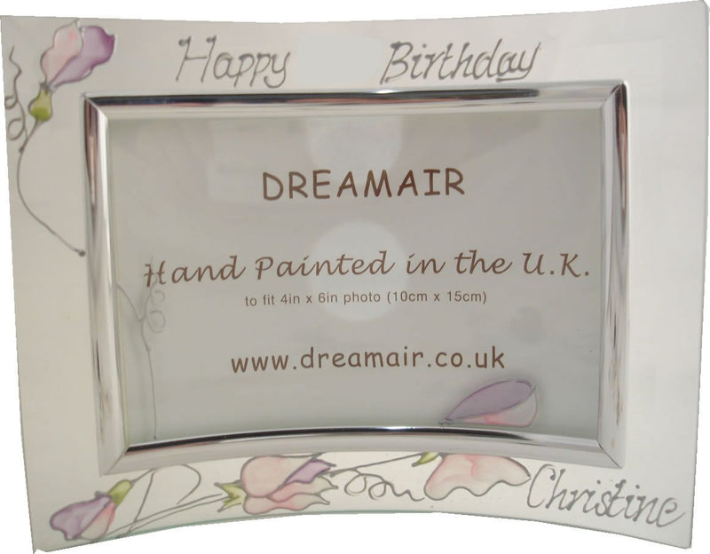 Personalised Land Frame Sweet Pea