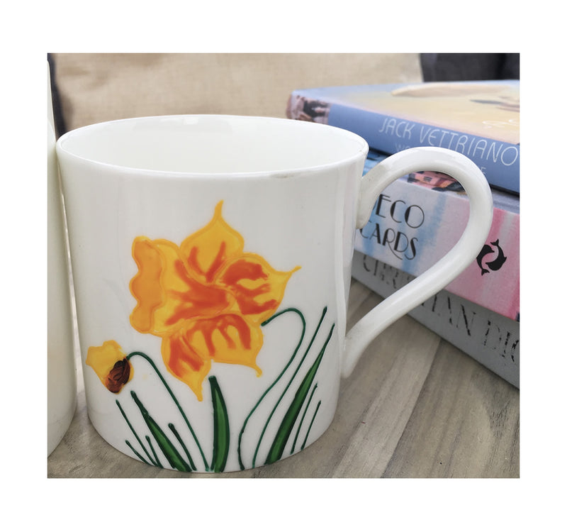 Daffodil China Mug Tea/Coffee