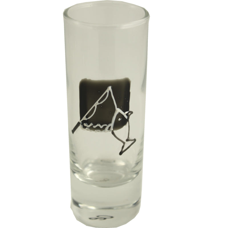Fishing Shot Glass