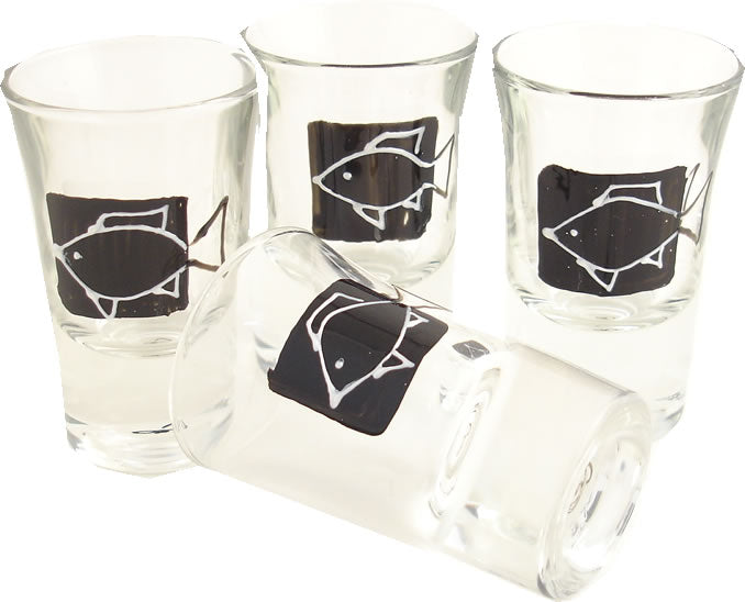 Fishing Shot Glasses (Set of 4)