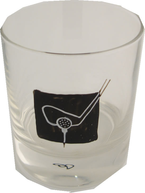 Golf Whisky Glass