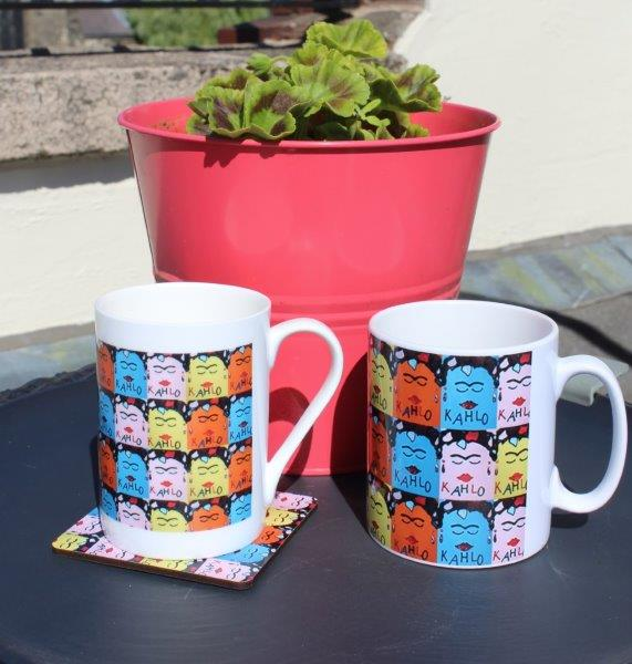 Frida Kahlo Ceramic Printed Mug: