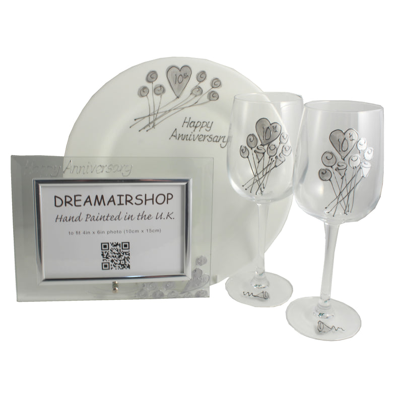 10th Wedding Anniversary Luxury Gift Set