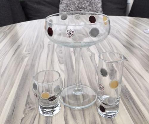 Tall Shot Drinking Gift Glass: Luxury with Crystal