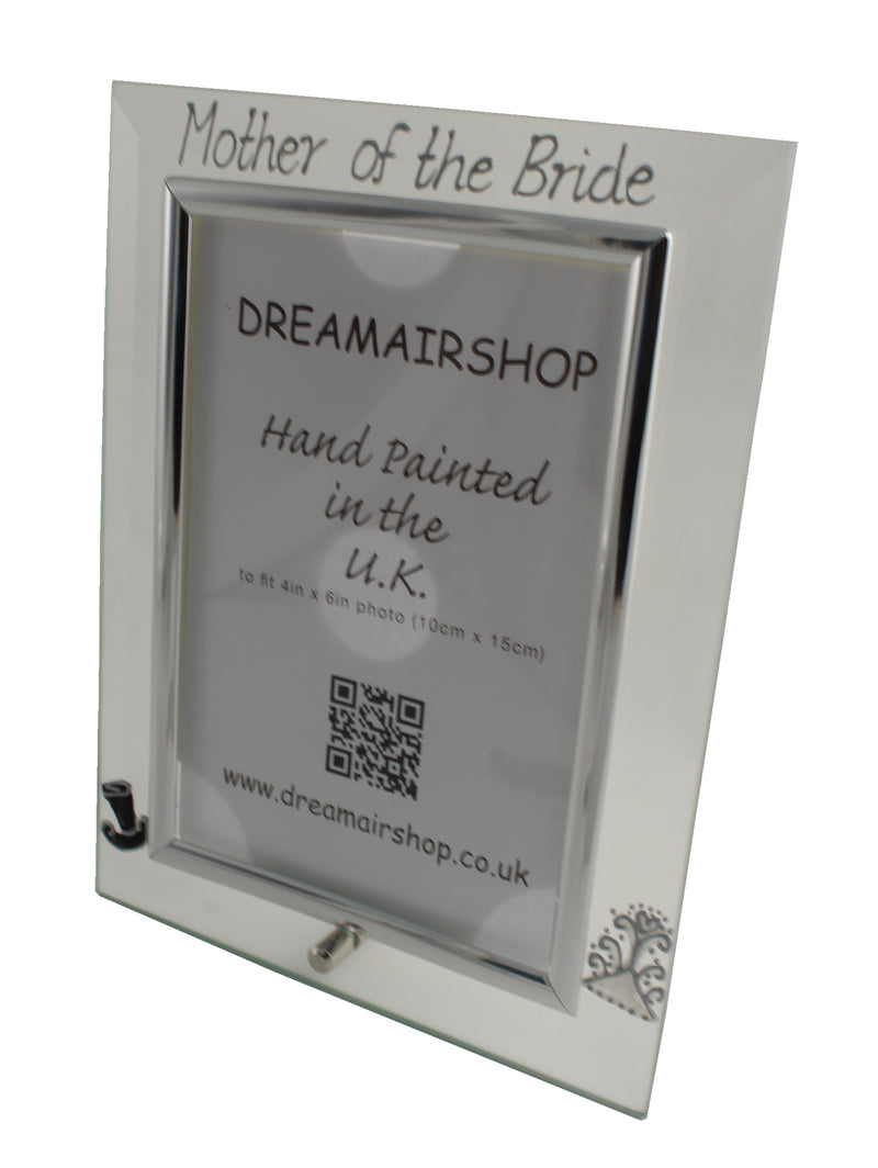 Mother of the Bride Photo Frame Port (Hat & Tiara)