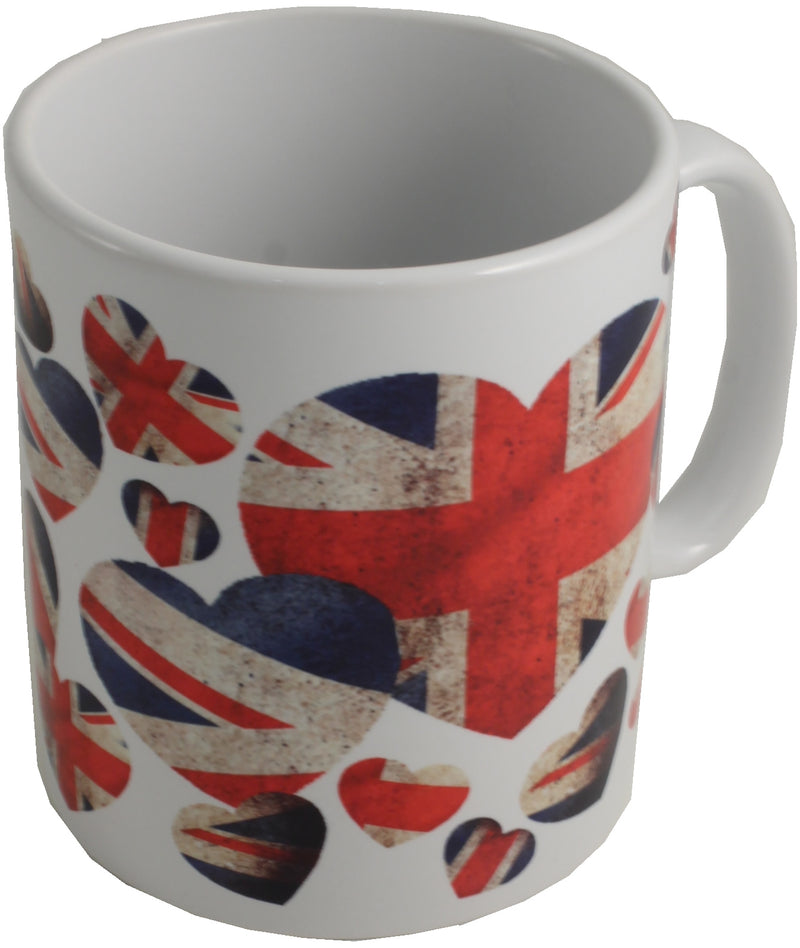Union Jack Ceramic Printed Mug: