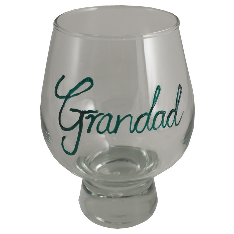 Personalised Beer Glass (Green)