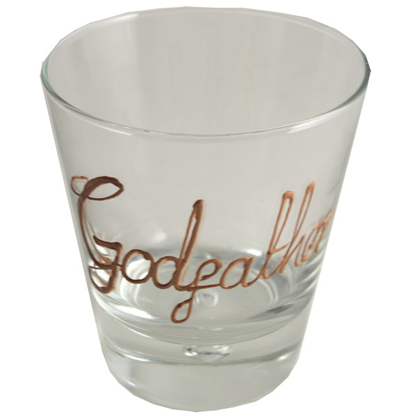 Personalised Wording Gift Whisky Glass (Copper)