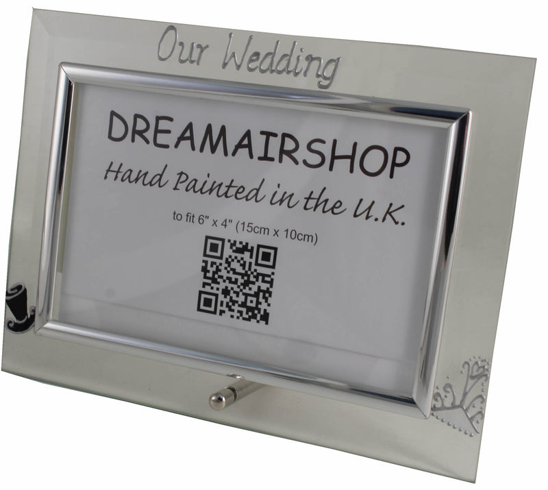 Our Wedding Photo Frame Hat & Tiara