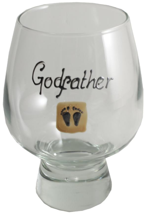 Godfather Gift Beer Glass (Feet)