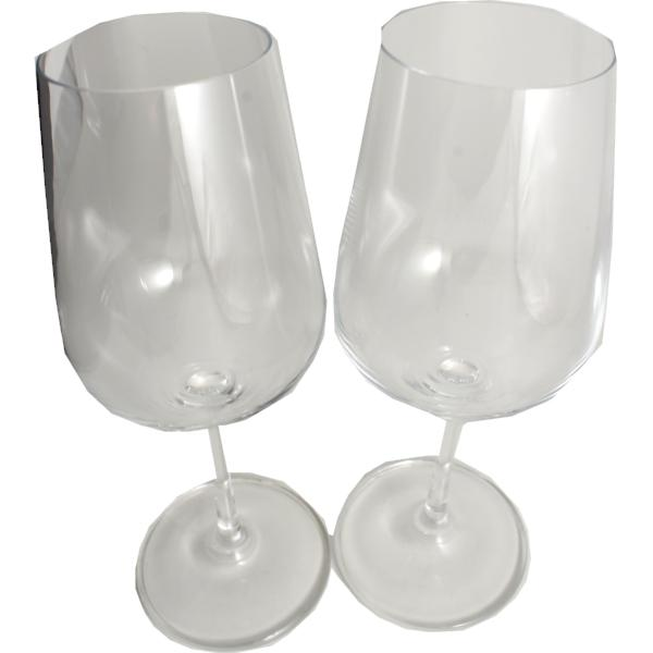 Titanium Crystal Gift Wine Glass: Set 2