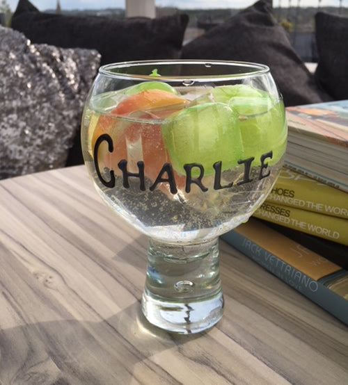 PERSONALISED GIN AND TONIC