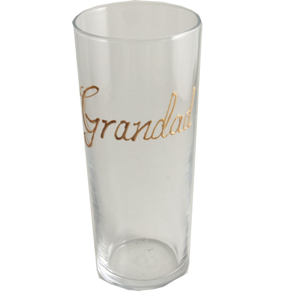 Personalised Pint Glass (Gold)