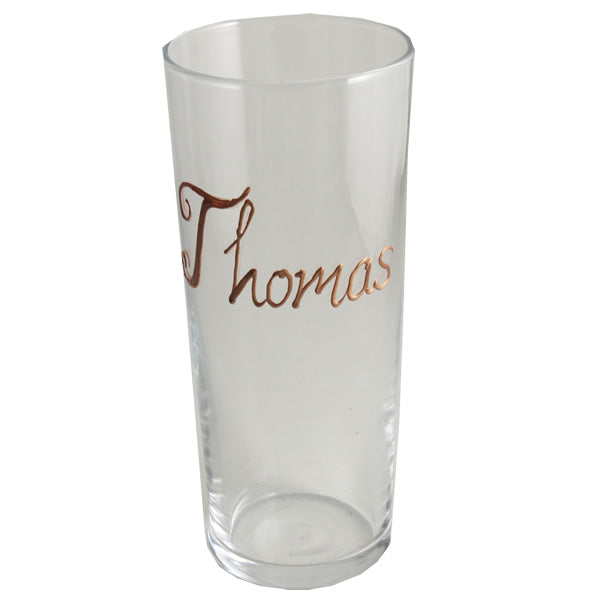 Personalised Wording Gift Pint Glass (Copper)