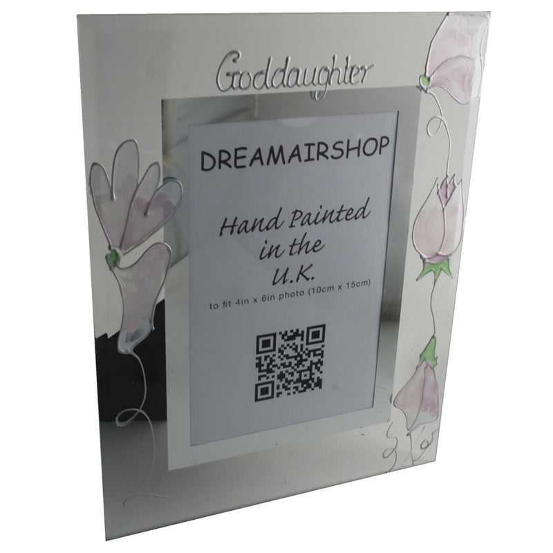 Goddaughter Design Gift Photo Frame: Portrait (Sweetpea)