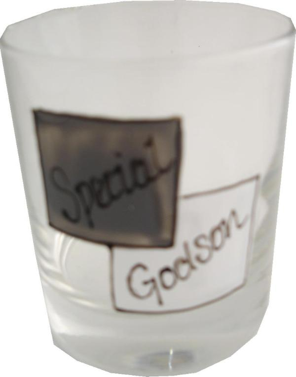 Special Godson Whisky Glass
