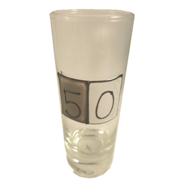 50th Birthday Gift Shot Glass