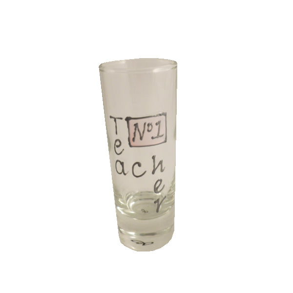 Teacher Shot Glass (Pink)