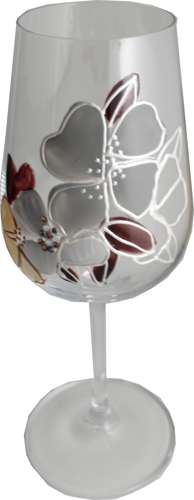 Wine Glass With Titanium Crystal: Luxury with Crystals
