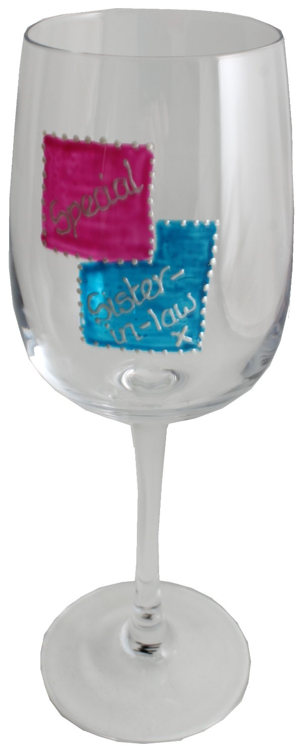 Special Sister-in-law Wine Glass