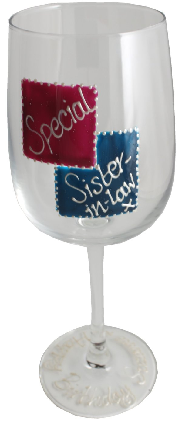Special Sister-in-law Glass: