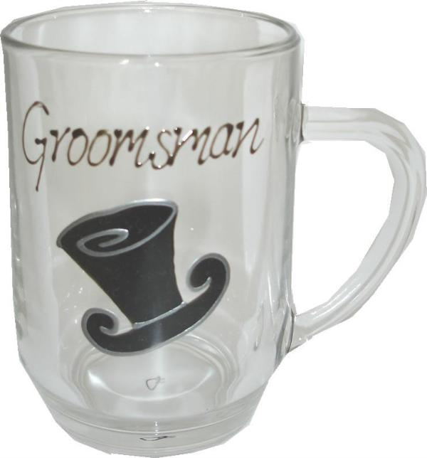 Groomsman Tankard (Top Hat)