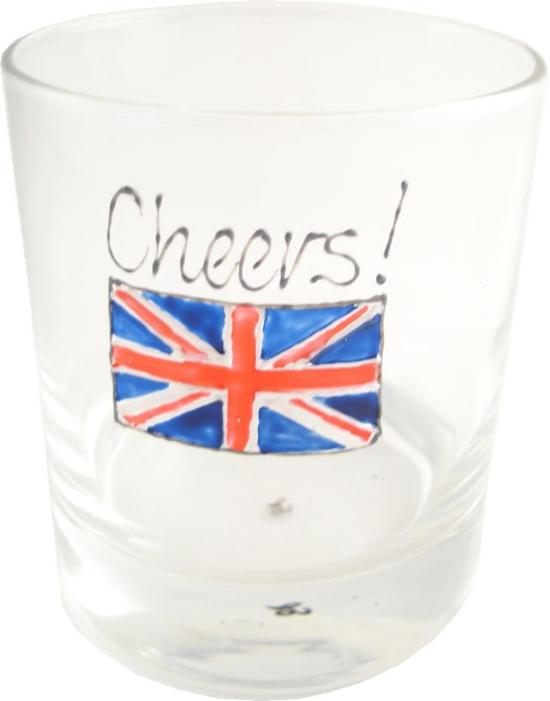 Union Jack Whisky Glass