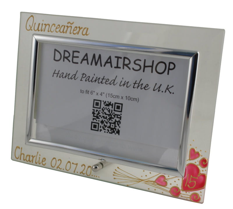 Personalised Quinceañera Photo Frame Land