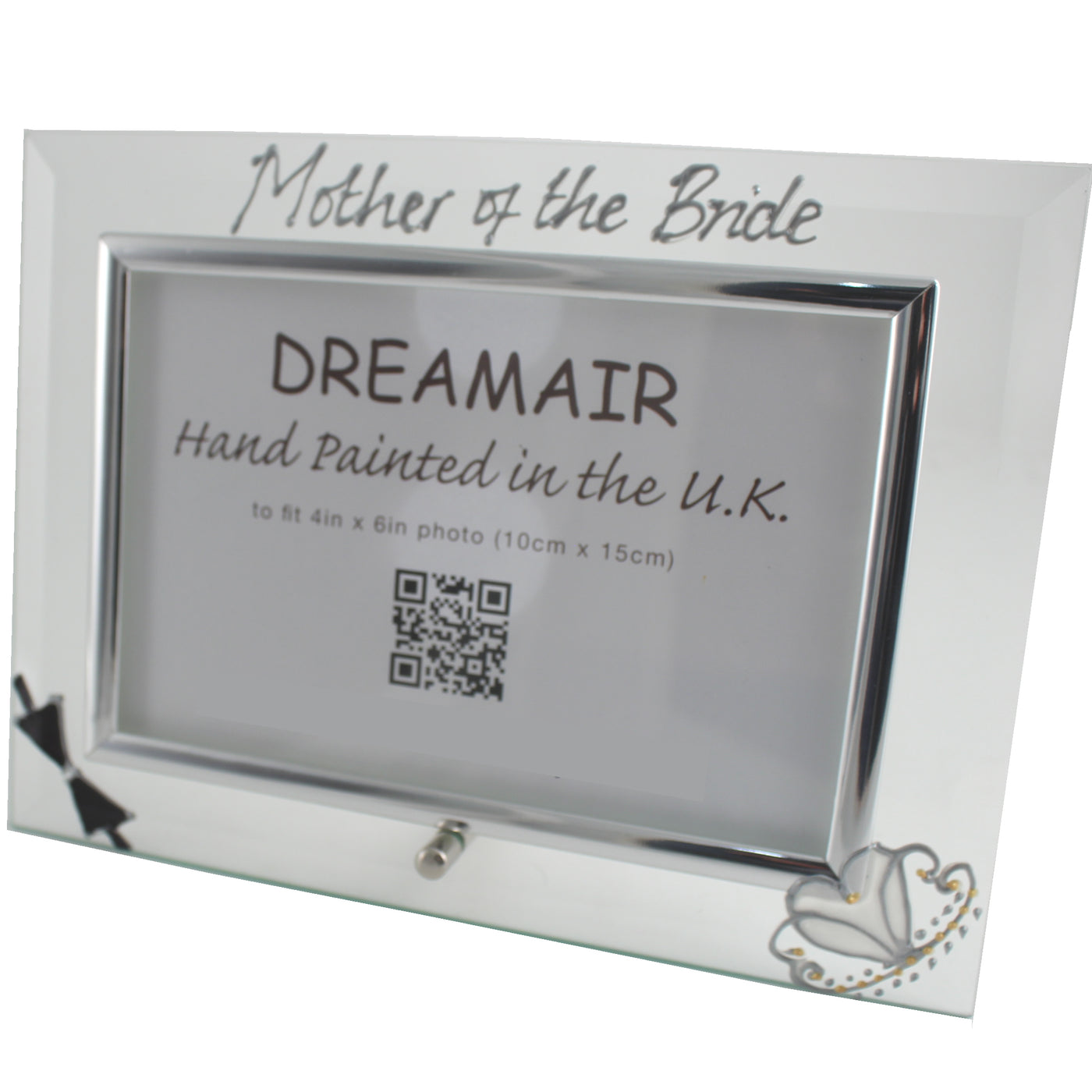 Mother Of The Bride Gift Photo Frame Landscape Bow Tiara