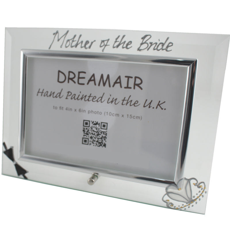 Mother of the Bride Photo Frame (Bow/Tiara)
