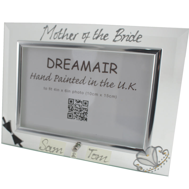 Personalised Mother of the Bride Photo Frame Land (Bow & Tiara)