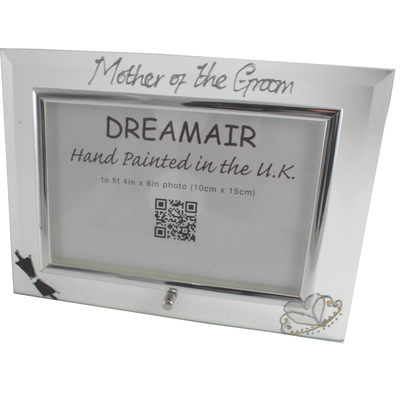 Mother of the Groom Gift Photo Frame Landscape (Bow & Tiara ...