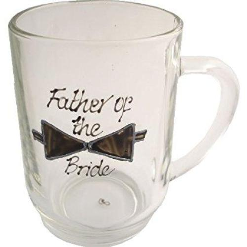 Father of the Bride Tankard Glass (Bow)
