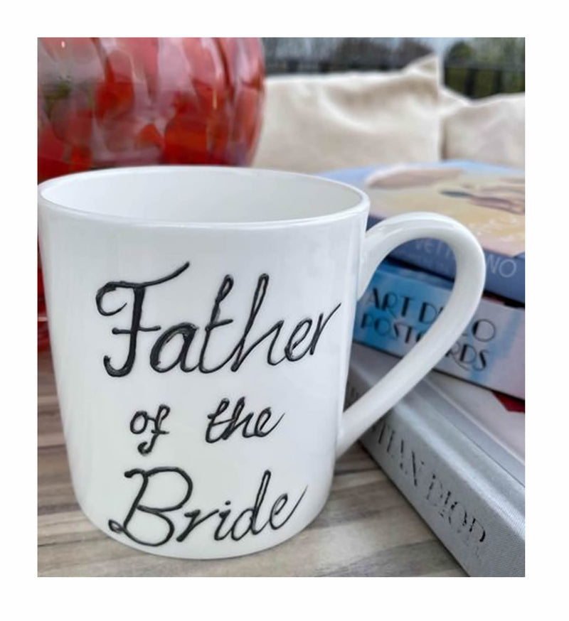Father Of The Bride 1 Pint Mug Black